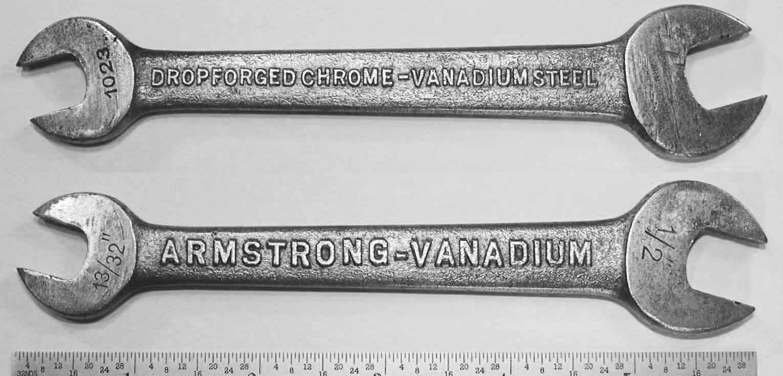 Гаечные ключи из хром-ванадиевой стали