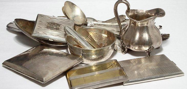 Лом серебра 925 пробы