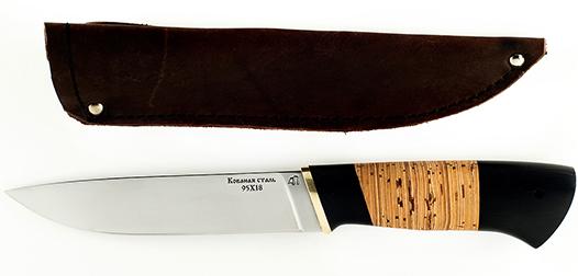 Нож из стали 95x18