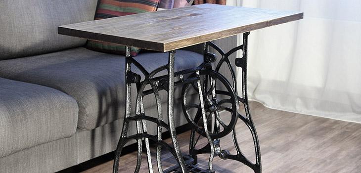 стол из швейной машинки