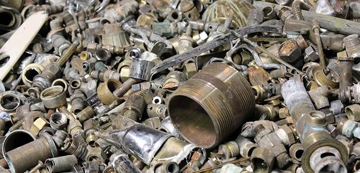 свалка металлолома