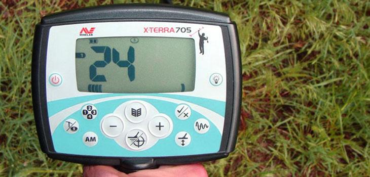 металлоискатель minelab x terra 705